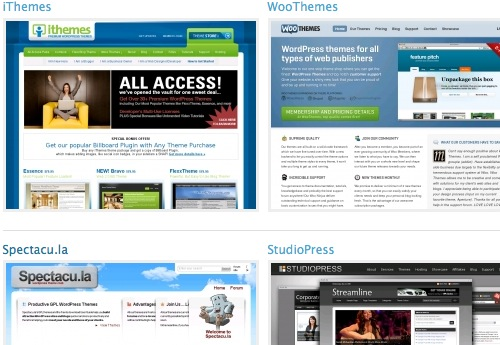 Post image for WordPress Featuring Commercial GPL Themes