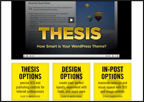Thesis WordPress Theme