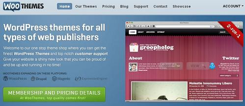WooThemes Premium WordPress Themes