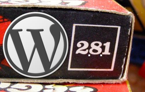 WordPress 2.8.1