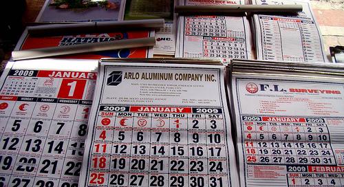 Copyright Calendar